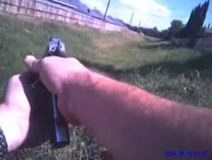 cop shoots pit bull